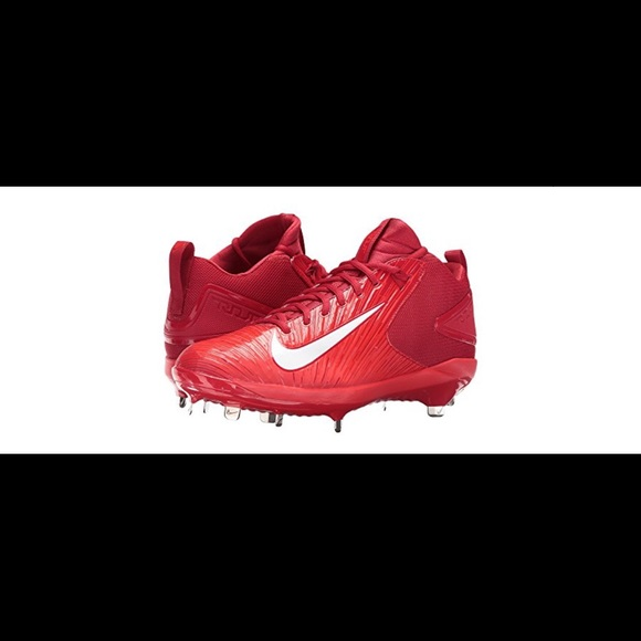 Nike Other - Red Nike Trout 3 pro Baseball Cleats 7 1/2